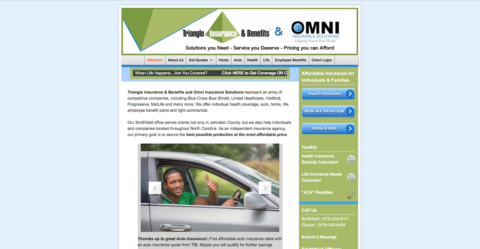 triangle insurance and benefits and omni insurance portfolio