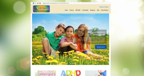 abc pediatrics website