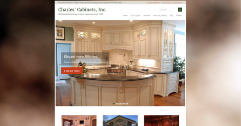 charles' cabinets, inc. four oaks, nc