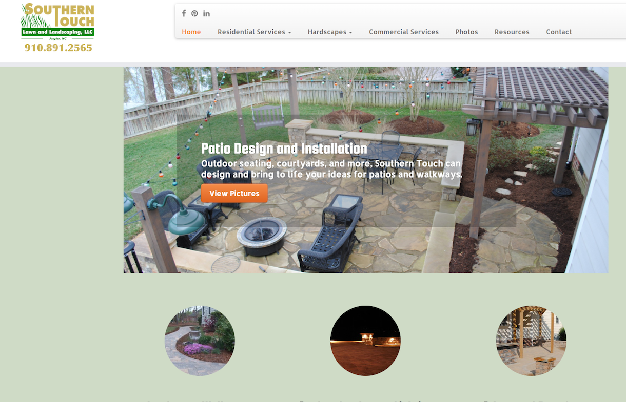 southern touch landscaping