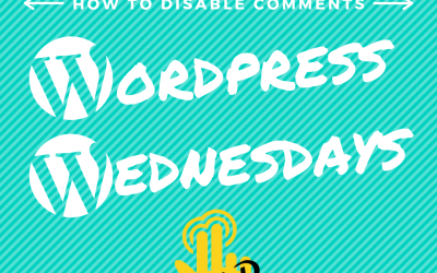How to disable comments completely on a WordPress website